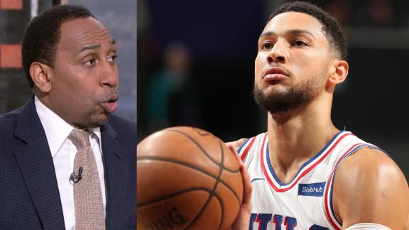 Stephen A.: Simmons is costing Sixers a championship