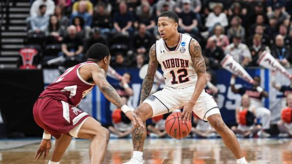 Auburn beats New Mexico State in first round