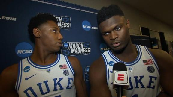 Zion: Duke doesn't want any 'what ifs' at end of tourney