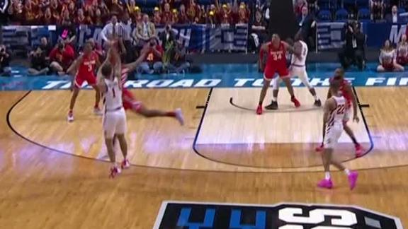 Iowa State unable to hit game-tying 3 at the buzzer