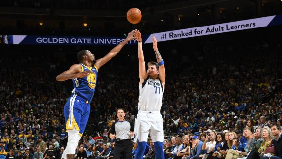 Luka's triple-double leads Mavs past Warriors
