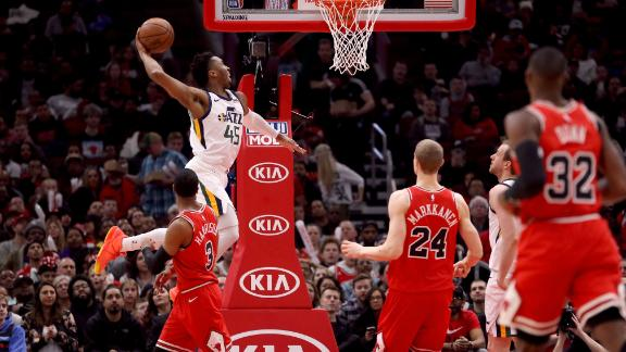 Mitchell, Gobert lead Jazz's rout of Bulls
