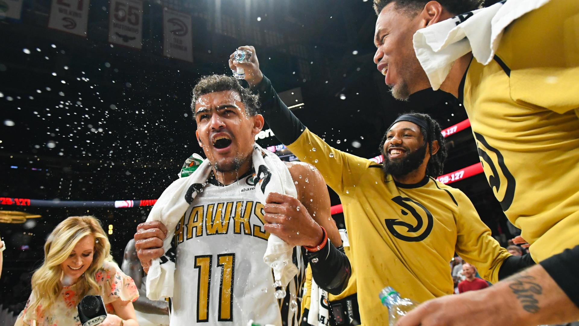 Trae Young hits game winner as Hawks beat 76ers