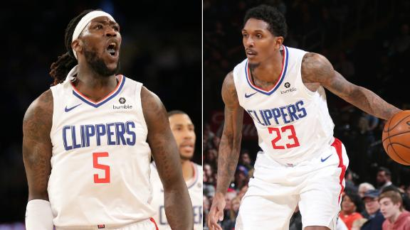 Williams, Gallinari & Harrell score 79 points in Clippers' win