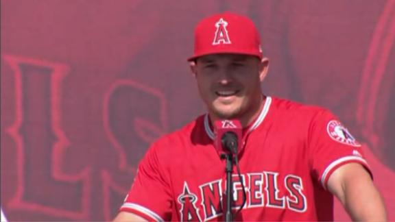 Trout 'wants to bring a championship back to Anaheim'