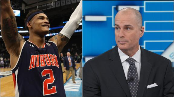 Bilas, Williams impressed by Auburn in NCAA tournament