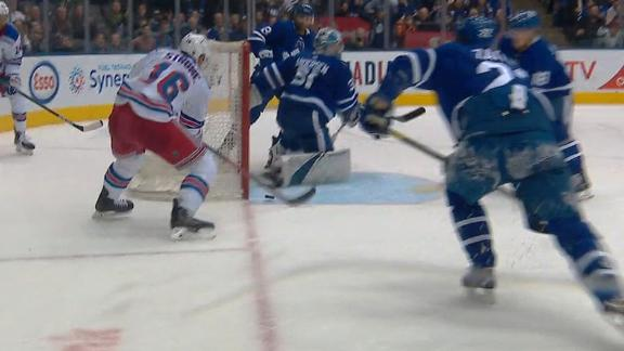 Strome stuffs home Rangers' game-winning goal in OT