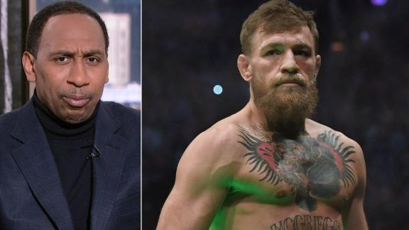 Stephen A. questions McGregor's dedication to winning