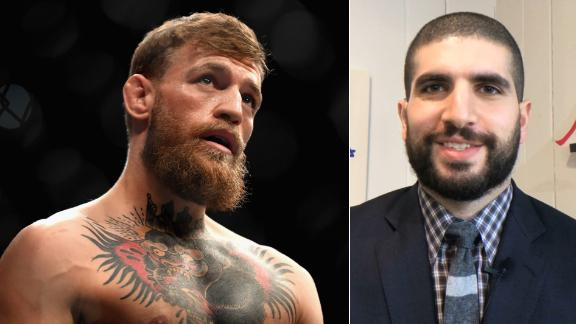 Helwani not totally sold on McGregor's retirement announcement