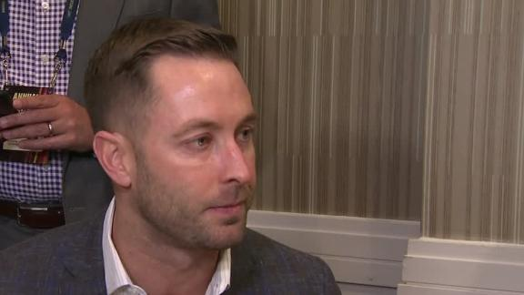 Kingsbury: Rosen fits our offense