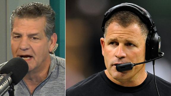 Golic on Schiano leaving Patriots: There is more to the story