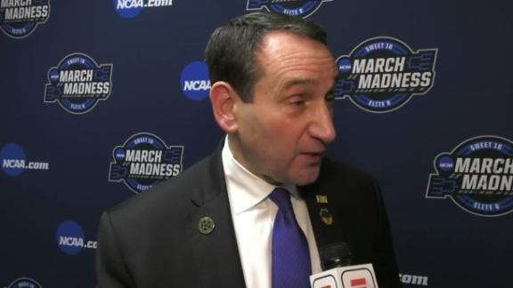 Coach K: We played til the end