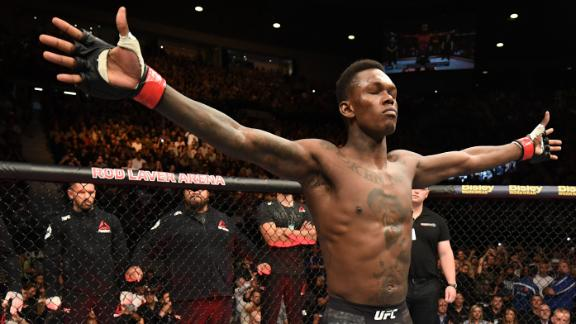 Adesanya's year of domination