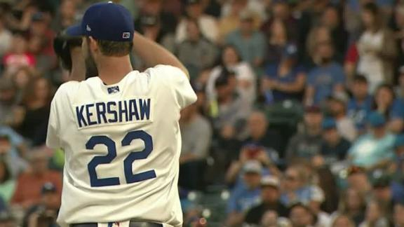 Kershaw strikes out 6, allows 2 runs in rehab game
