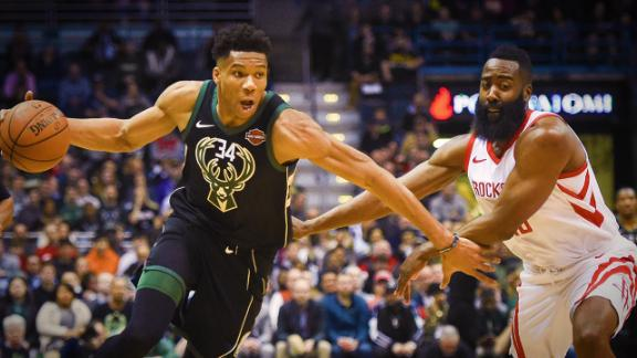 Giannis vs. Harden: Who is the MVP?