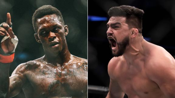Undefeated Adesanya ready to take on Gastelum at UFC 236