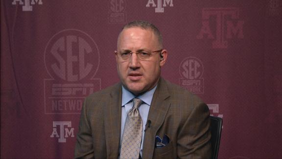 Williams hoping to bring energy to Texas A&M