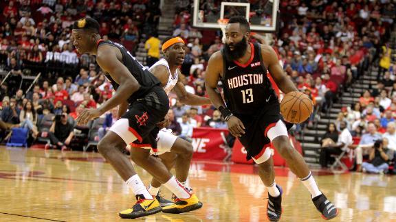 Rockets dominate Knicks at home