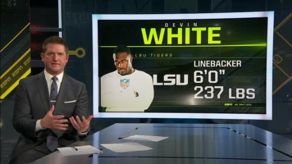 McShay: White is a top-5 player in 2019 NFL draft