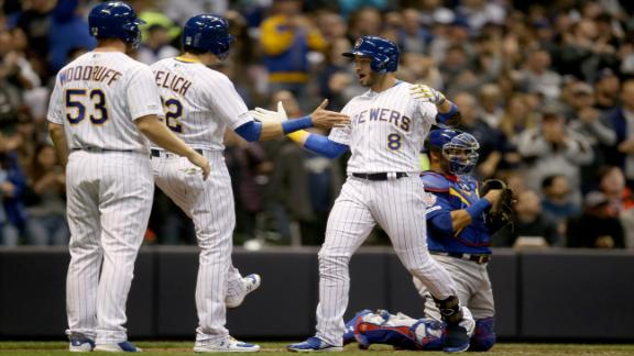 Brewers use the long ball to beat Cubs