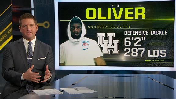 McShay: Oliver worth a top-10 pick