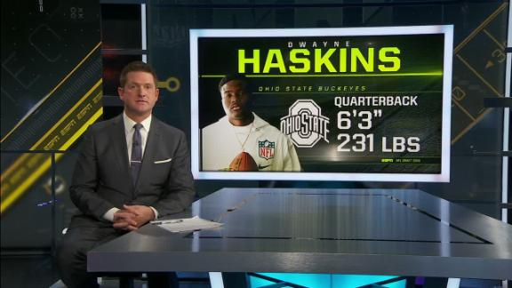 McShay: Haskins is the most natural passer in the draft