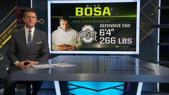 McShay: Bosa can be elite if he stays healthy
