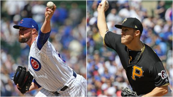 Lester, Taillon leave with injuries