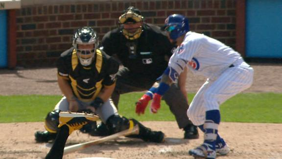 Cubs' win sees Baez's wild hit, Taillon hit with liner