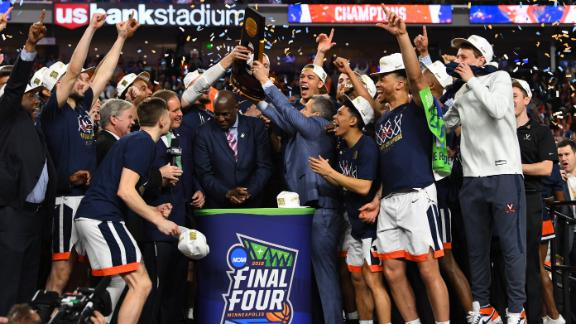 Virginia wins 1st national championship in OT thriller