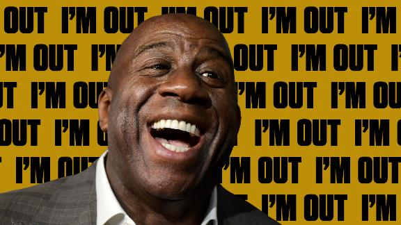 Magic's resignation shakes up the sports world