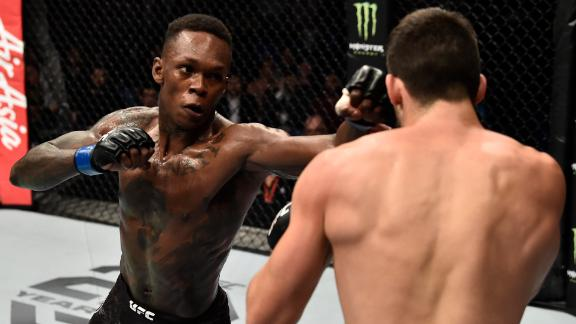 Adesanya facing his biggest challenge yet