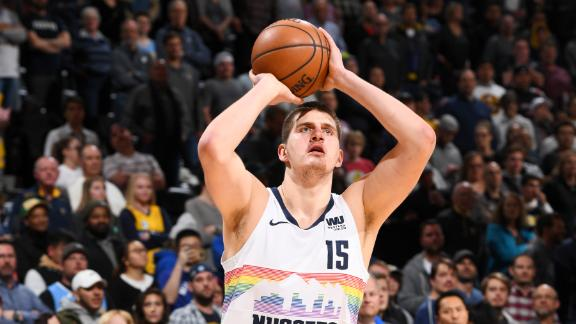 Jokic logs double-double as Nuggets secure No. 2 seed in West