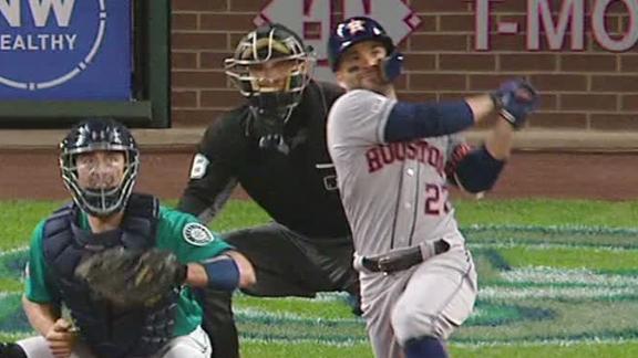 Springer, Altuve and Gurriel power Astros past Mariners