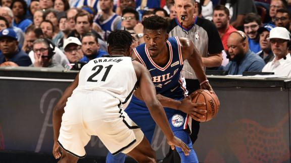 Butler drops playoff career-high 36 in Game 1 loss