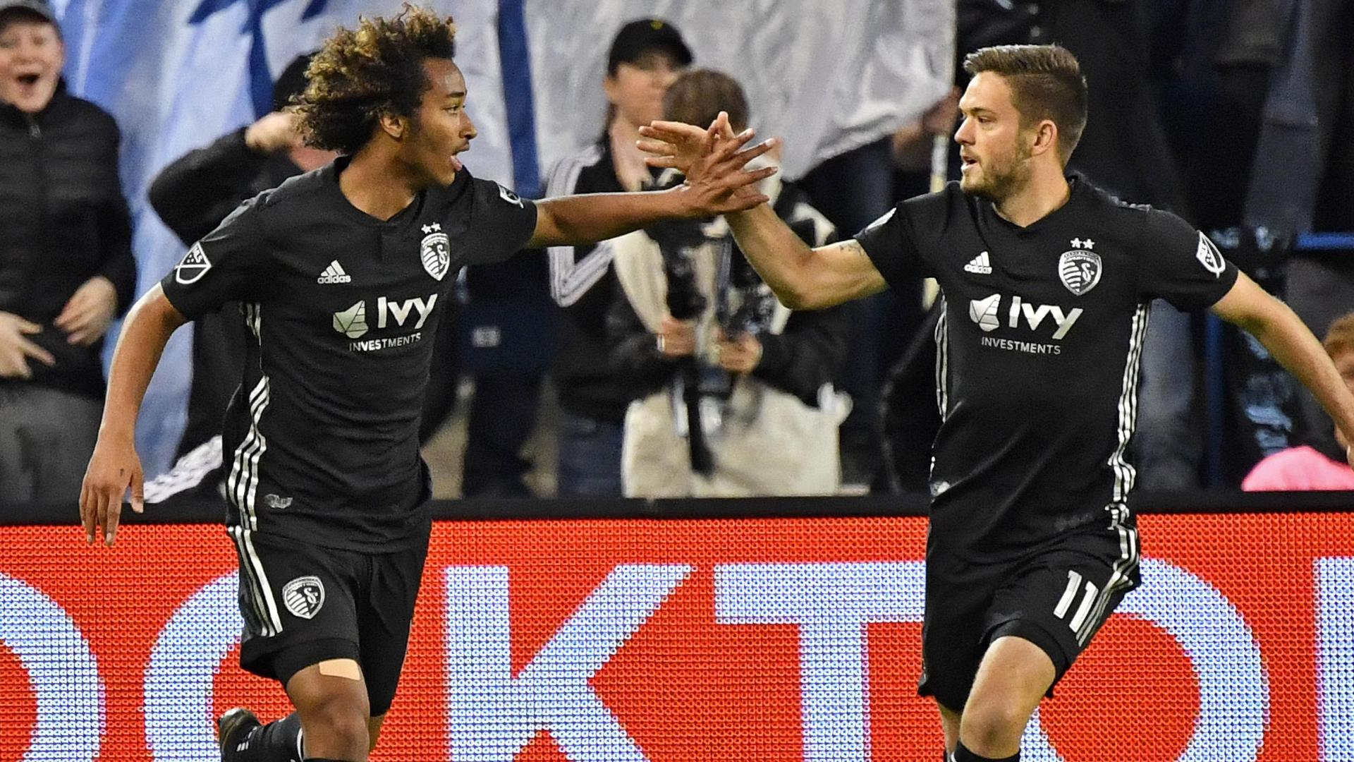 Busio gets Sporting KC back on level terms with tap-in