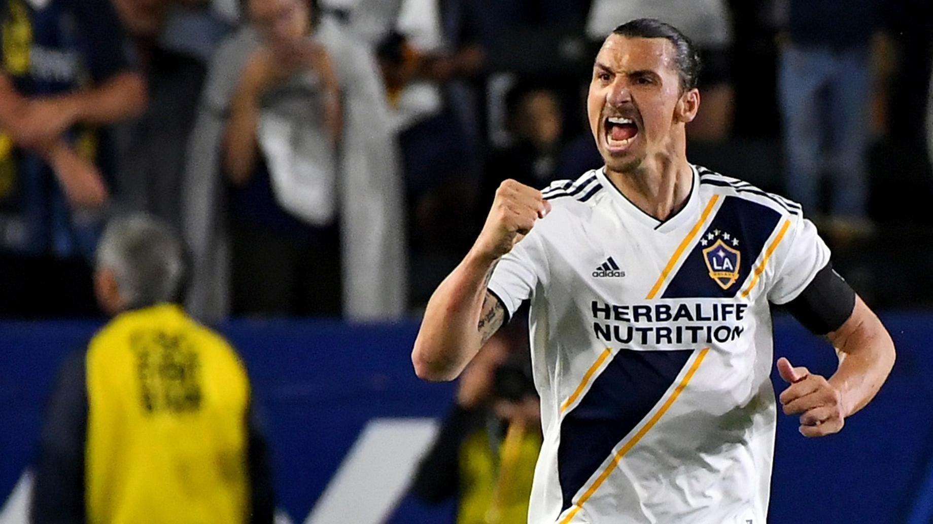 Zlatan pulls the strings in another LA Galaxy win