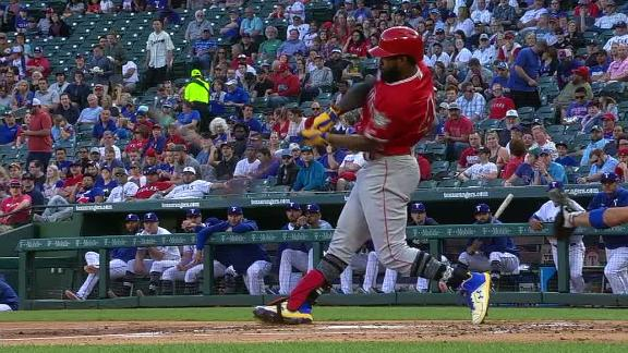 Goodwin's 2-run homer gives Angels an early lead