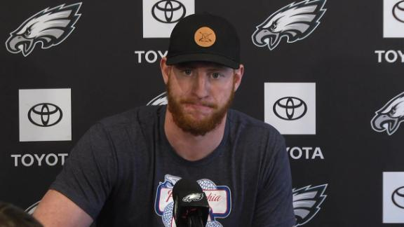 Wentz ready to put injury behind him