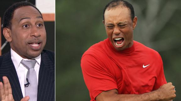 Stephen A. didn't see Tiger's win coming