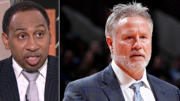 Stephen A.: Brown will be fired if 76ers lose series to Nets