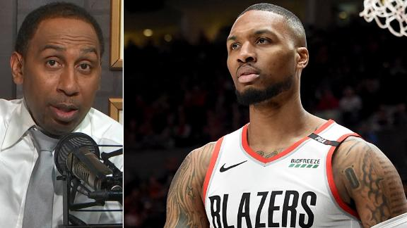 Stephen A.: Lillard deserves first-team All-NBA over Curry