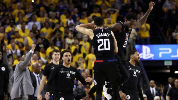 Clippers erase 31-point deficit to stun Warriors
