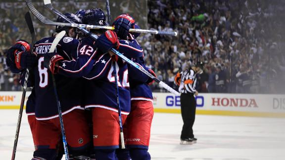 7a7ff093365 Blue Jackets complete sweep of Lightning