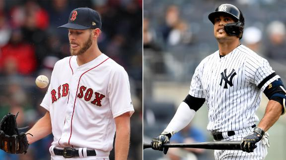 Red Sox, Yankees limp into first meeting of the season
