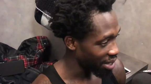 Beverley: 'KD's not an easy cover, but it's fun out there'