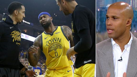 Jefferson: Cousins' injury puts Warriors in a 'difficult spot'