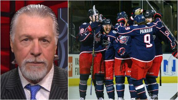 Melrose expecting Blue Jackets to sweep Lightning