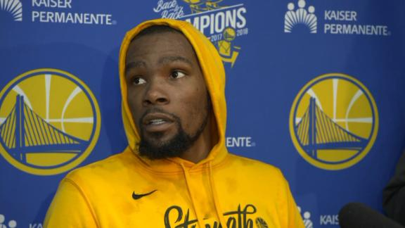 "KD on Beverley matchup: ""I'm Kevin Durant. Y'all know who I am"""