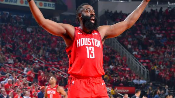 Harden's triple-double leads Rockets to 2-0 series lead